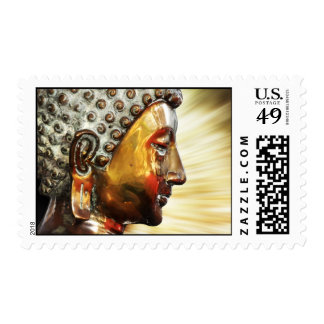 Buddha face postage
