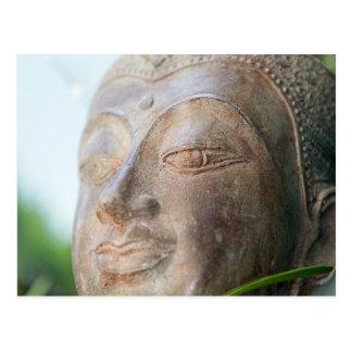 Buddha Face Postcard