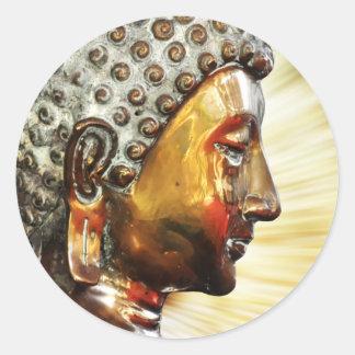 Buddha face stickers
