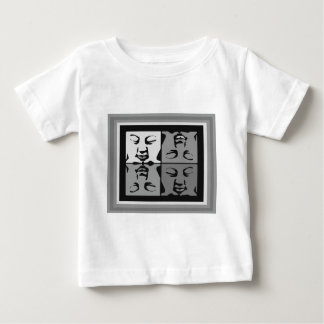 Buddha faces baby T-Shirt