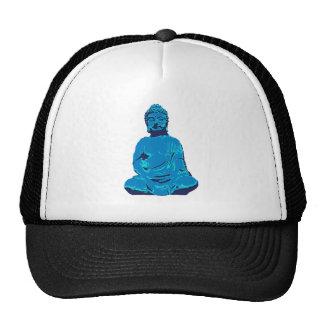 Buddha figure trucker hat