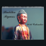 "Buddha Figures 2016 Calendar<br><div class=""desc"">Buddha figures of different sizes, styles and colours.</div>"