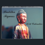 """Buddha Figures 2016 Calendar<br><div class=""""desc"""">Buddha figures of different sizes, styles and colours.</div>"""