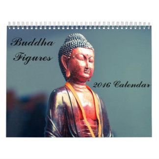 Buddha Figures 2016 Calendar