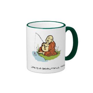Buddha Fishing Mug
