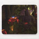 Buddha Flower Mouse Pad