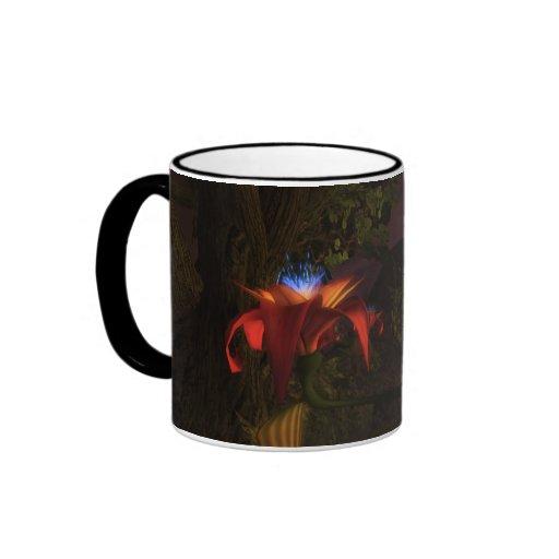 Buddha Flower Ringer Coffee Mug