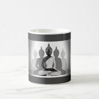 Buddha & Four Silhouettes Coffee Mug