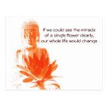 Buddha Gautama quote postcard