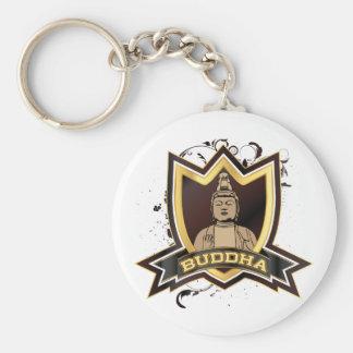Buddha Gold Logo Keychain