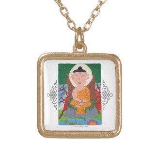 Buddha Gold Necklace