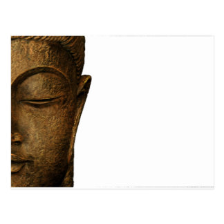 BUDDHA gold Postcard