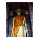 buddha gold sash postcard
