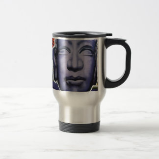 Buddha Graffiti Travel Mug