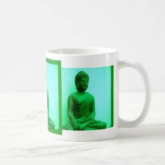 Buddha Green Bronze Statue by Sharles Coffee Mug