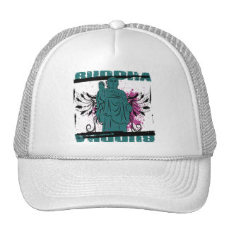 Buddha Grunge Statue Trucker Hats