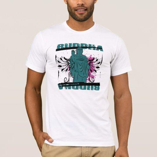 Buddha Grunge Statue T-Shirt