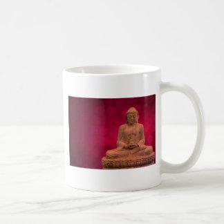 buddha hablas taza básica blanca