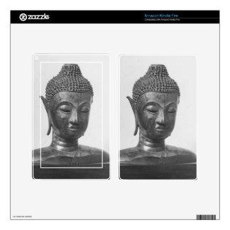 Buddha Head - 15th century - Thailand Kindle Fire Decal