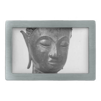 Buddha Head - 15th century - Thailand Rectangular Belt Buckle