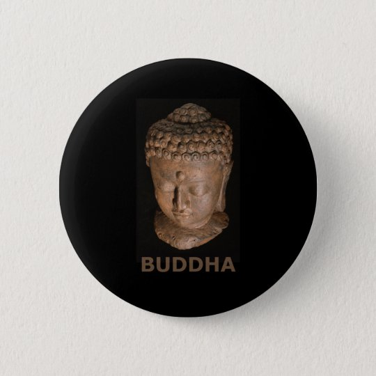 Buddha Head Button