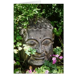 Buddha Head Card