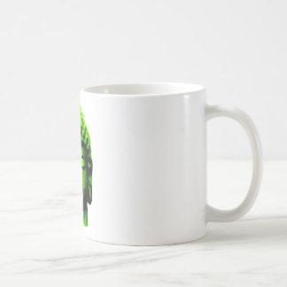 Buddha head coffee mug