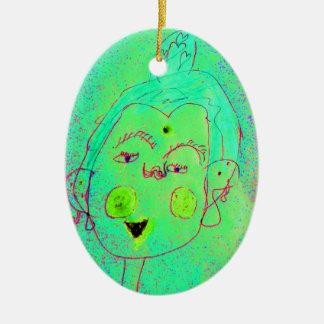 Buddha Head Ornament