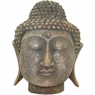 Buddha Head Ornament Photo Sculptures