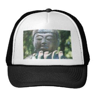 Buddha head & Peace ASL Trucker Hat