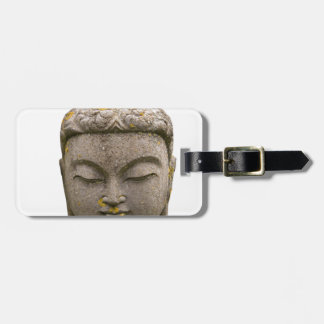 Buddha Head Statue (discolored and ancient) Bag Tag