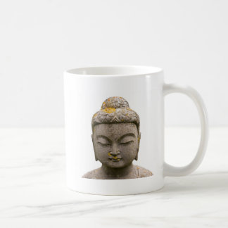 Buddha Head Statue (discolored and ancient) Coffee Mug