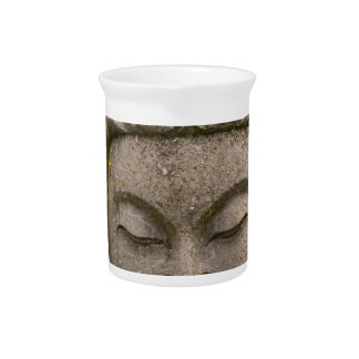 Buddha Head Statue (discolored and ancient) Drink Pitcher