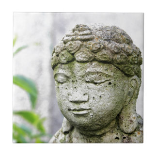 Buddha head statue tile