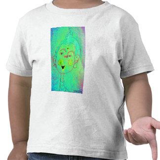 Buddha Head T Shirt