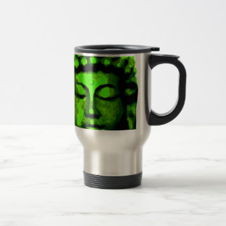 Buddha head travel mug