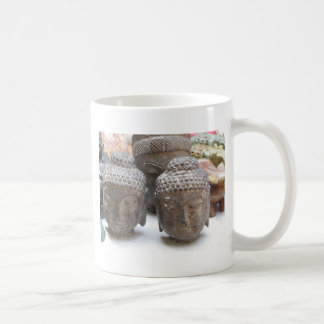 Buddha Heads Coffee Mug