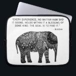 """Buddha Henna Elephant Wisdom Laptop Sleeve 10 Inch<br><div class=""""desc"""">Buddha Henna Elephant Wisdom Laptop Sleeve 10 Inch</div>"""