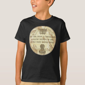 Buddha Hollow Words T-Shirt
