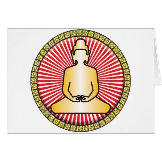 Buddha Icon Card