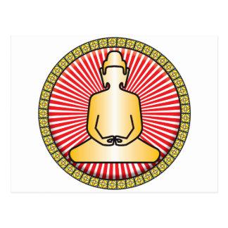 Buddha Icon Post Card