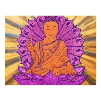 Buddha Illuminated Postcard