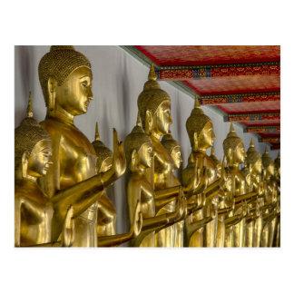 Buddha images postcard