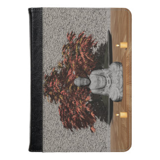 Buddha in a room - 3D render Kindle Case