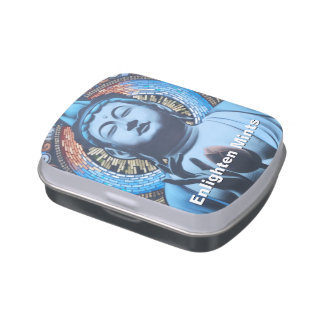 Buddha in Blue (Enlighten Mints) Jelly Belly Candy Tin