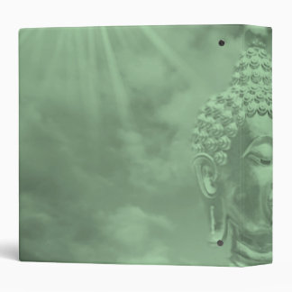 buddha in colored clouds with artificial sun binder