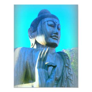 buddha in discussion mudra card