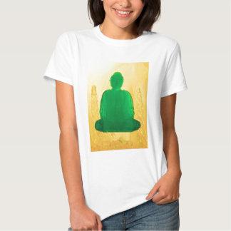 buddha in gold tee shirt