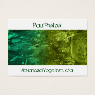 Buddha in Green & Turquoise Business Card