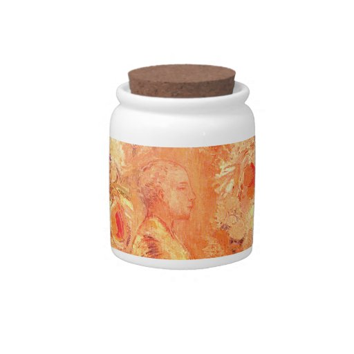 Buddha in His Youth by Redon Candy Jar